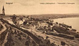 Belgrad, Totalansicht V. Kalimegdan. Serbia. Serbie - Serbia