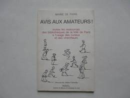 MAIRIE DE PARIS - TOUTES LES RESSOURCES DES BIBLIOTHEQUES - Books, Magazines, Comics