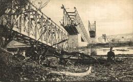 Die Eisenbahnbrücke Semilin-Belgrad. Serbia. Serbie - Serbia