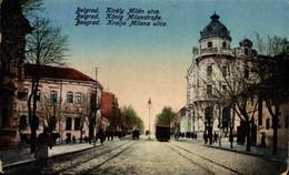 Belgrad, Kralja Milana Ulica. Serbia. Serbie - Serbia