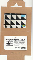 GREECE - IKEA  ,TRIANGLES ,2019, Gift Card - Gift Cards