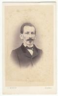 CDV Photo Foto Um 1865 - J. Weber, Flawyl - Feiner Herr, Name Rückseitig - Identified Persons