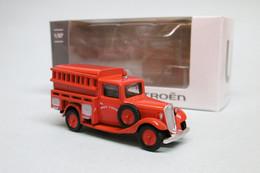 Norev - CITROEN U11 Pompiers 1935 Service D'incendie Neuf HO 1/87 - Road Vehicles