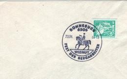 6506 Ronneburg - Wismut - Fest Der Bergarbeiter - Pferd Hacke - Alfred Brehm Haus 1984 - Other
