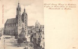 Poland - KRAKOW - Kosciot Panny Maryi - Poland