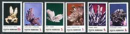 ROMANIA 1985 Minerals MNH / ** .  Michel 4202-07 - Unused Stamps