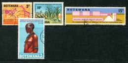 Botswana 1968 Opening Of National Museum And Art Gallery Set Used (SG 244-247) - Botswana (1966-...)