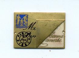 Médaille Ou Décoration émaillée (?) Paris 1883 / (fin XIXème - Début XXème) - France