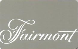 CANADA KEY HOTEL  Fairmont - Hotelkarten