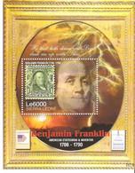 Moldova Moldavia SIERRA LEONE Post Block 2006 Benjamin Franklin USA - Moldavië