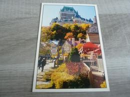 QUEBEC - LE CHATEAU FRONTENAC - EDITIONS J.C.RICARD - - Québec - Château Frontenac