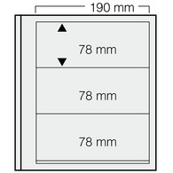 Safe Dual Blankoblätter 613 (VE = 5 Blatt) Neuware (BL 3 - Fogli Bianchi