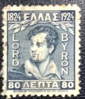 Greece - Griekenland - P3/18 - (°)used - 1924 - Michel 297 - Lord Byron - Gebraucht