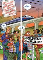 2 Marque Page Rare Pica Les Profs Formant Scénette 2008 - Books, Magazines, Comics