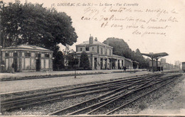 CPA Loudéac, La Gare Vue D'ensemble - Loudéac