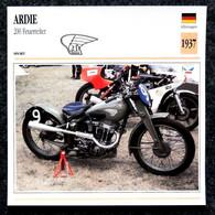 Collection Fiches ATLAS - MOTO - ARDIE 200 Feuerreiter - 1937 - Other