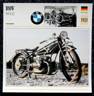 Collection Fiches ATLAS - MOTO - BMW 500 R 32 - 1923 - Other