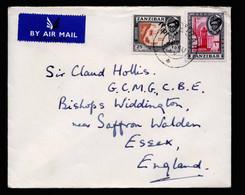 A6807) UK Zanzibar Brief 1959 N. Essex - Zanzibar (...-1963)