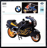 Collection Fiches ATLAS - MOTO - BMW 1000 K1 - 1988 - Other