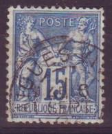 Aigues Vives Herault (34) Oblitération Type A1 Sur Sage - 1877-1920: Semi-Moderne