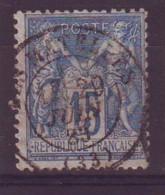 Les Matelles Herault (34) Oblitération Type 17 Sur Sage - 1877-1920: Semi-Moderne
