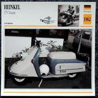 Collection Fiches ATLAS - MOTO - HEINKEL 175 Tourist - 1962 - Other