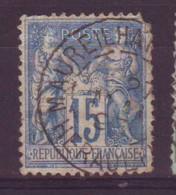 Maureilhan Herault (34) Oblitération Type A1 Sur Sage Défectueux - 1877-1920: Semi-Moderne