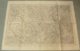 Carte Du S.G.A. : REIMS / TROYES / METZ - 1/320 000ème - 1856/Après 1870. - Mapas Topográficas