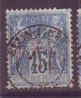 Eyzin Pinet Isere (38) Oblitération Type 17 Sur Sage - 1877-1920: Semi-Moderne