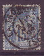 La Tronche Isere (38) Oblitération Type A1 Sur Sage - 1877-1920: Semi-Moderne