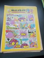 SPI920 Page De Publicité (plastifiable Sur Demande) CHEWING-GUM MALABAR  Issu De SPIROU  ANNEES 70/80 - Advertising