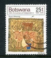 Botswana 1976 Tenth Anniversary Of Independence - 25t Value Used (SG 384) - Botswana (1966-...)