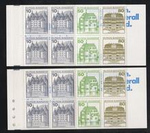 Bundesrepublik Deutschland / 1985 / Markenheftchen Mi. 24i K1 OZ Und Mi. 24i K2 OZ ** (B105) - [7] Repubblica Federale