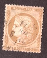 Cérès N° 36 Bistre - Oblitération CàD T17 - 1870 Siège De Paris