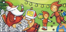 CARTE POSTALE NOEL ENVOYEE AUX ENFANTS PAR LE SECRETARIAT DU PERE NOEL - Santa Claus