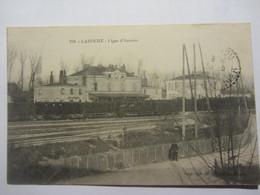 Cpa LAROCHE (89) Ligne D'Auxerre - Migennes