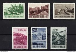BELGICA **918/23 Nuevo Sin Charnela. Cat.85 € - Unused Stamps