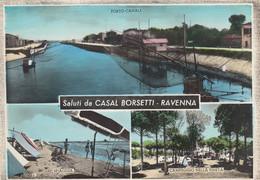 Emilia Romagna  - Ravenna - Casal Borsetti - Saluti Da Casal Borsetti - 3 Vedute  - F. Grande - Viagg - Molto Bella - Italy