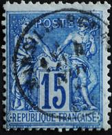 -Sage N°90 Type Ll.(CAD) O.MARSILLARGUES  ( 33 ) - 1876-1898 Sage (Tipo II)