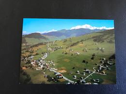 815 - CREST VOLAND Vue Generale Et Massif Du Mont Blanc - Andere Gemeenten