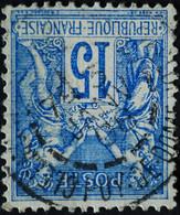 -Sage N°101 Type Ll.(CAD) O.CLERMONT-FERRAND 3 JANV 1908 - 1876-1898 Sage (Tipo II)