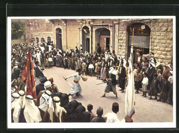 AK Jerusalem, Tournoi Arabe Pendant La Fete De En-Nebi-Mousa - Palästina
