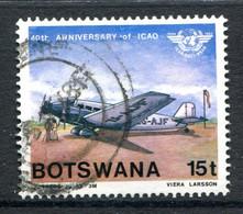 Botswana 1984 40th Anniversary Of International Civil Aviation Organization - 15t Value Used (SG 564) - Botswana (1966-...)