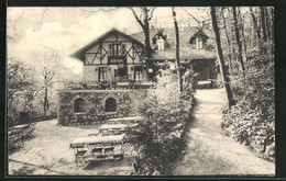 AK Bad Kreuznach, Hotel Forsthaus Theodorshalle - Chasse
