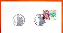 57 BITCHE   VAUBAN  Lettre Entière N° DE 702 - Gedenkstempel