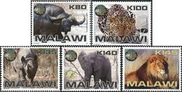 MALAWI  Big 5  Faune  5v 2011 Neuf ** MNH - Malawi (1964-...)