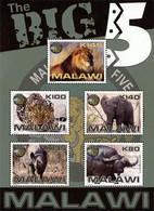 MALAWI Bloc  Big 5  Faune  2011 Neuf ** MNH - Malawi (1964-...)