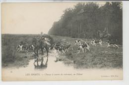 LES SPORTS - CHASSES A COURRE Du Sud Ouest , En Défaut - Chasse