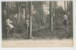 LES SPORTS - CHASSES A COURRE Du Sud Ouest , Sous Bois, L'Attaque - Chasse