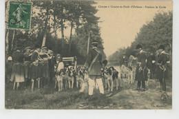 CHASSES A COURRE En Forêt D' Orléans : Pendant La Curée - Chasse